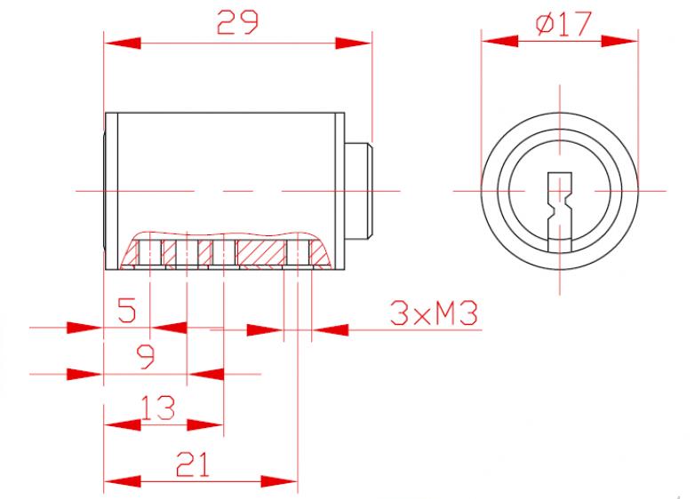 Sicherheitsmechanismus L 29