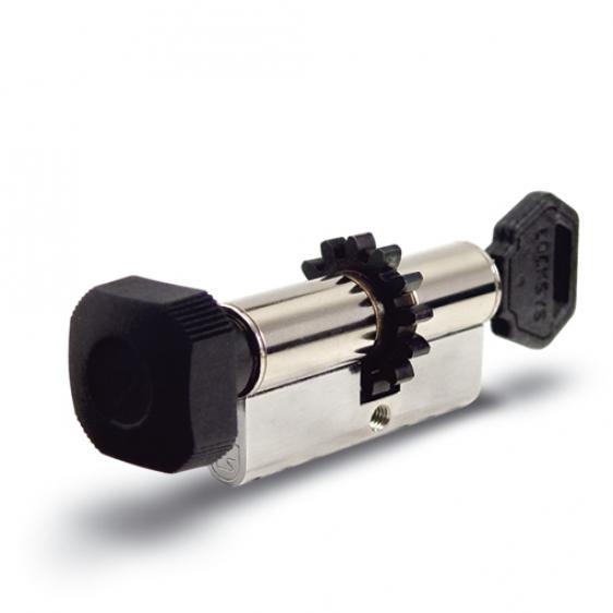 Ключалка с  ръкохватка и зъбно колело