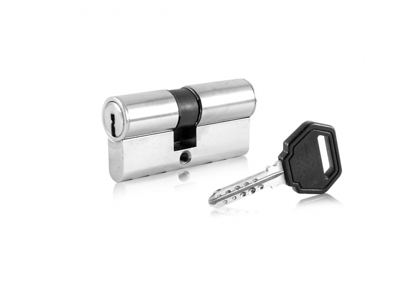 Ключалка двустранна с  палец