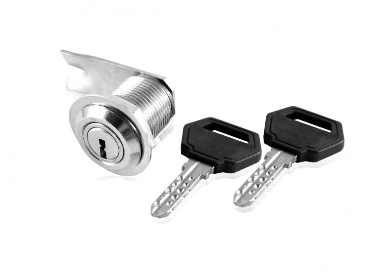 Брава едностранна едноходова тип ключалка с  метален корпус